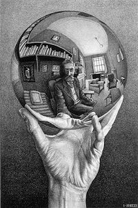 M.C. Escher, 1935, lithograph