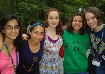 global youth at summer camp