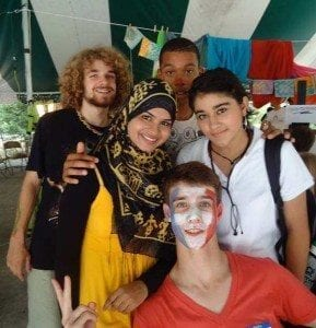 Leaders can get along with all types of people - like the youth that come to GYV from all over the world!